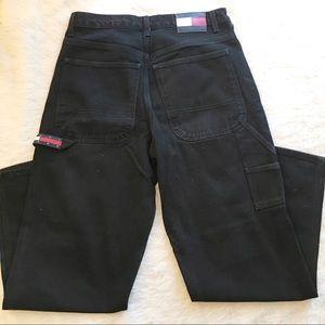 Tommy Hilfiger Black Carpenter Jeans Size 32x32